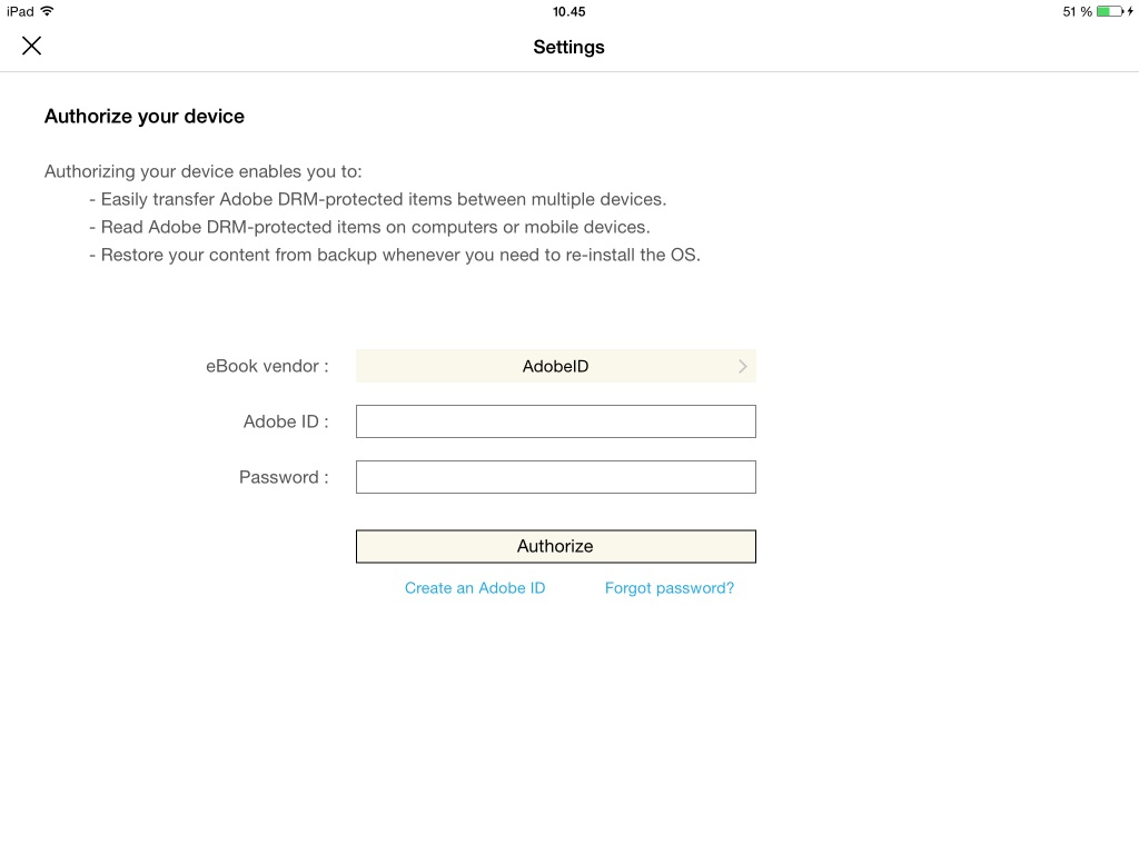 adobe digital editions on ipad