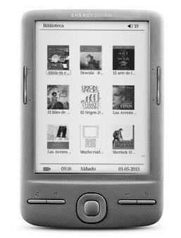 energy ereader e4 mini front