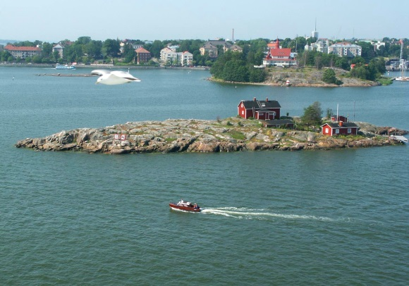 Helsinki, Finland a view from sea