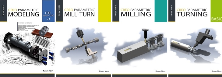 Creo Parametric 4 book covers