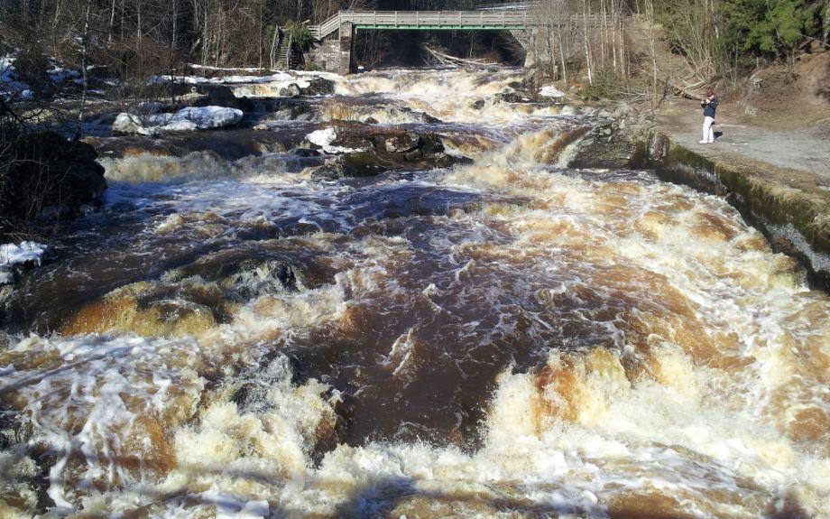 myllykoski rapids, Scandinavia