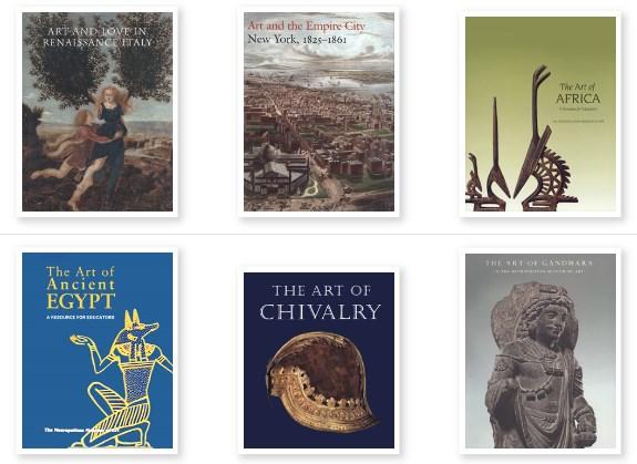 ilmaisia e-kirjoja Metropolitan Museosta
