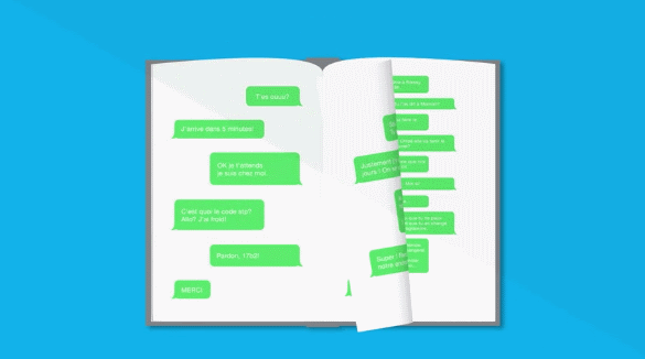 textolife, from text messages to books