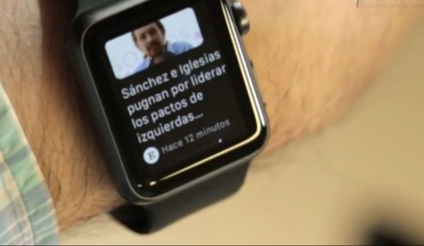 el pais, apple watch, news app