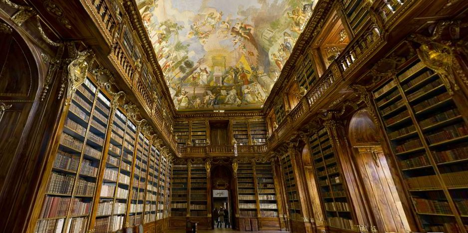strahov library prague czech, 360cities