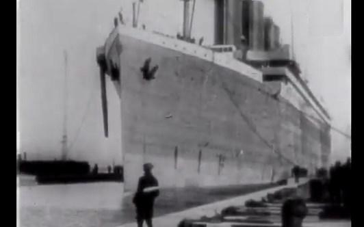 british movietone newsreel archive, titanic