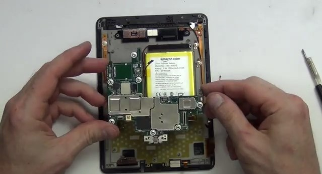 amazon kindle voyage disassembled