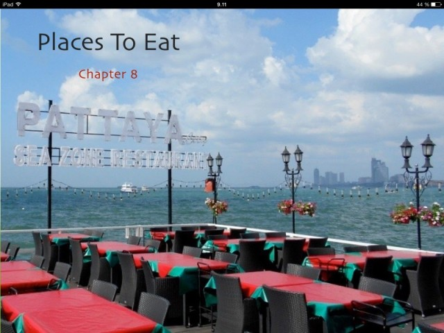 Travel guide book to Pattaya, food and drink