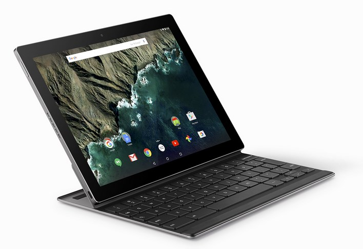 google pixel c, laptop mode