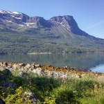 Scenery near Narvik, Norway