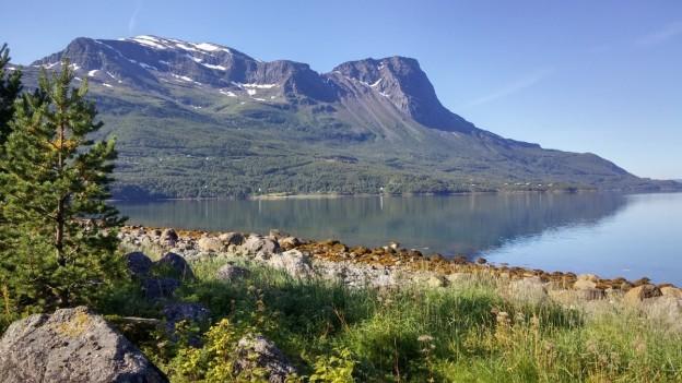 Scenery near Narvik, Norway