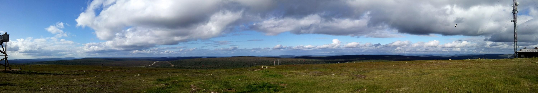 saariselka kaunispaa, Lapland, panorama