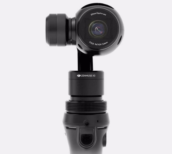 dji osmo camera for stable video films