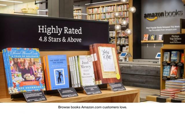 amazon kirjakauppa seattle, kirjahylly ja kirja-arvostelu