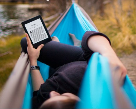 amazon kindle paperwhite 3, outdoors
