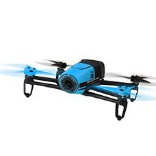 parrot bepop drone, blue