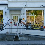 bicycles, Harstad, Norway