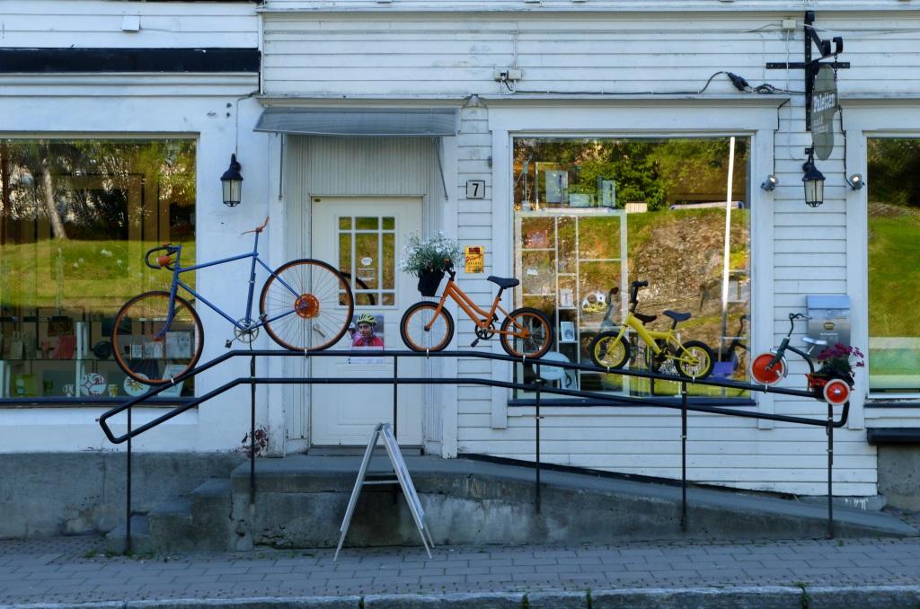 bicycles, Harstad, Norway
