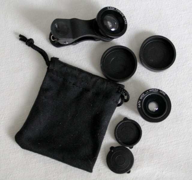 macro lens kit with fisheye lens