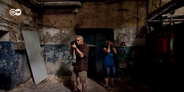 urban explorers, deutsche welle