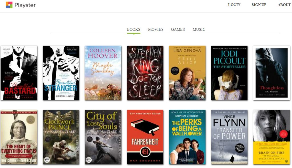 playster ebooks, subscription