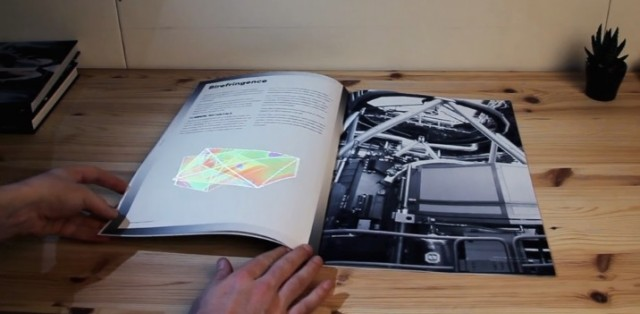 augmented reality app with a book