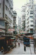 hong kong back alley