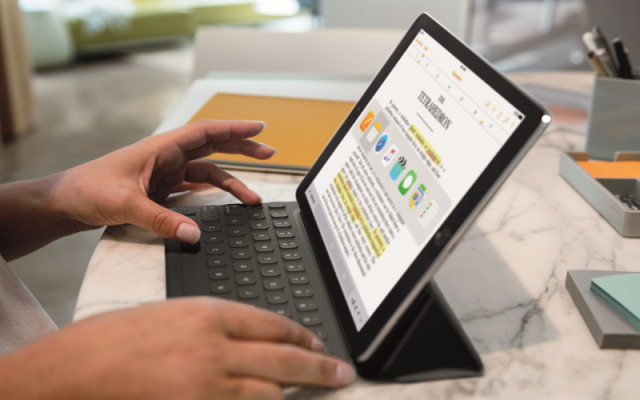 apple ipad pro 9.7 smart keyboard