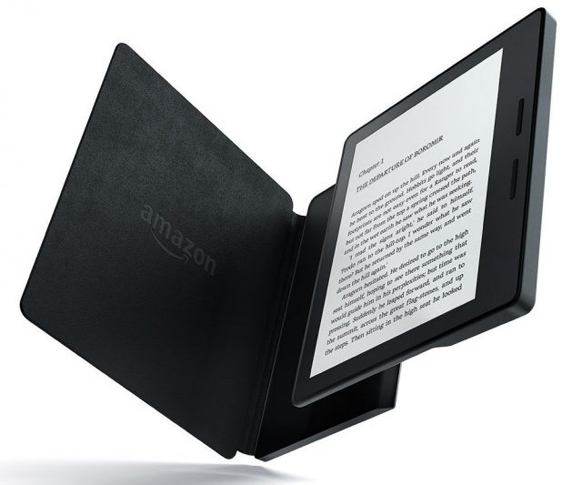 amazon kindle oasis ereader with cover
