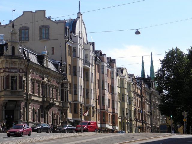 Erottaja, Helsinki, jugend houses