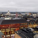 helsinki, view from hotel torni
