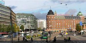 Helsinki, city streets