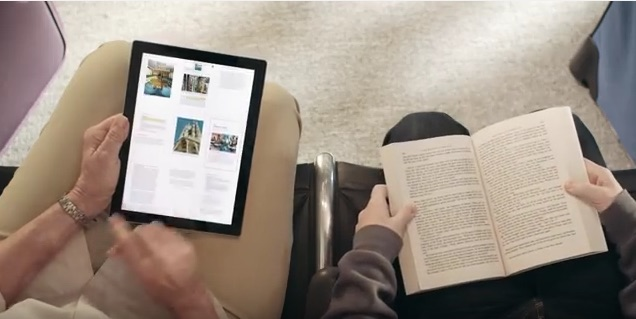 kindle page flip video