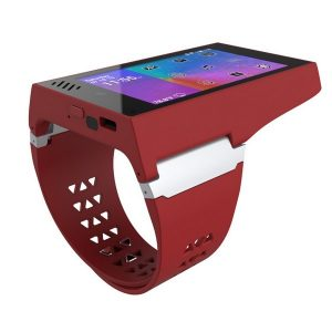 rufus cuff, Android smartphone on wrist