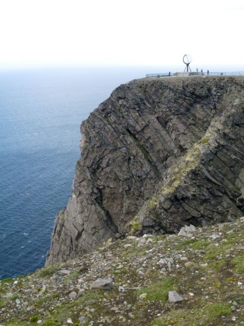 nordkapp, this is the end of the road in Europe