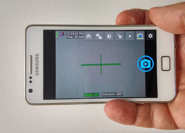 samsung, smartphone, open camera app