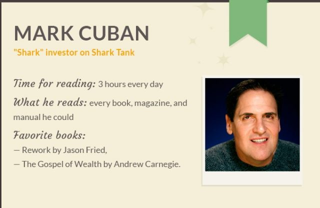 reading habits of wealthy people, infographic by fresh essays