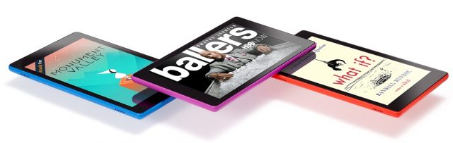 amazon fire hd 8, 3 tablet colors
