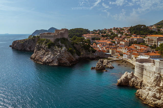 Dubrovnik, Croatia. Port by Maarten Elings.