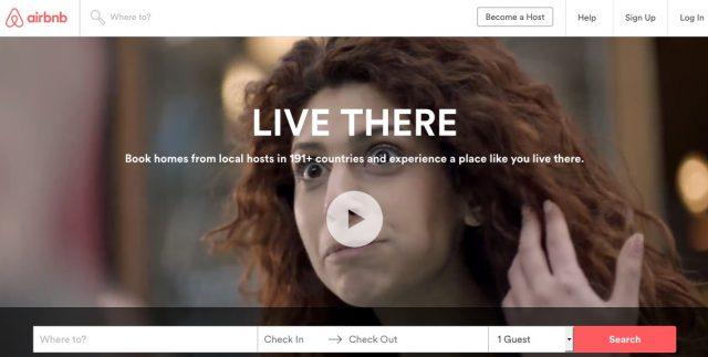 airbnb screen shot