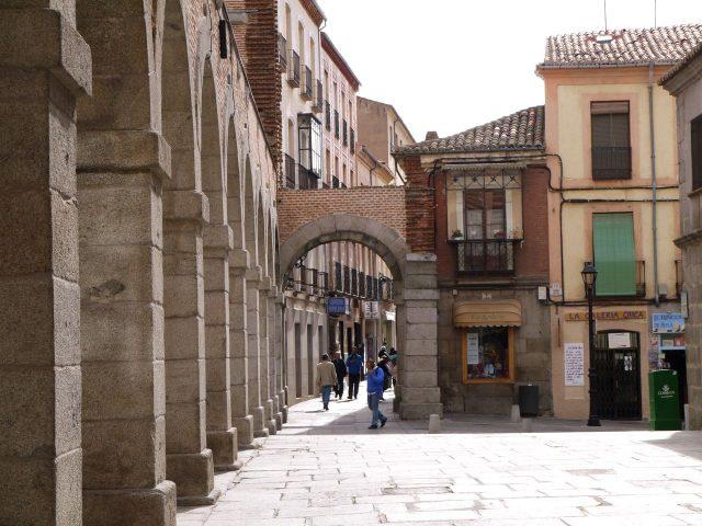 avila, spain. a walled city