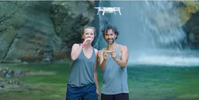 yuneec breeze selfie drone