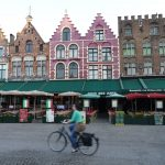 The Central Square in Brugge, Belgium.