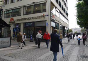 Akademibokhandeln bookstore in gothenburg, sweden west coast