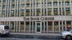 bricks-and-mortar, book shop in Gothenburg