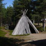 Inari, Finland. Sami teepee.