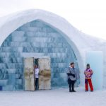Icehotel, Jukkasjarvi, Kiruna, Sweden, Lapland