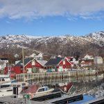 Lödingen port in Lofoten, Norway.