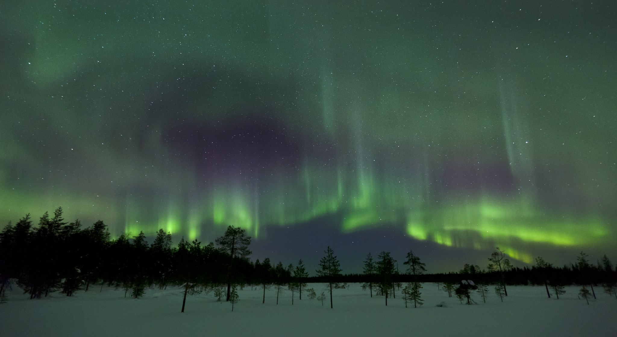 Northern Lights. Copyright Visit Rovaniemi/Rovaniemi Tourism & Marketing Ltd