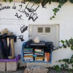 bookcrossing street library in Spain